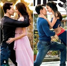Bollywood Couples, Bollywood Celebrities, Bollywood Pictures, Student Of The Year, Tiger Love, Tiger Shroff, Beautiful Bollywood Actress, Hottest Pic, Movie Theater