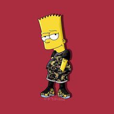 Supreme Iphone Wallpaper, Simpson Wallpaper Iphone, Cartoon Wallpaper Iphone, Simpsons Characters, Simpsons Art, Chill Wallpaper, Cute Wallpaper Backgrounds, Pocahontas John, Bart Simpson Tumblr