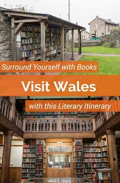 Visit Wales on this literary travel itinerary. Surround yourself with books as you visit the Gladstone's Library, Hay on Wye bookshops and the Brecon Beacons