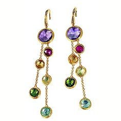 Marco Bicego 18ct yellow gold multi stone earrings