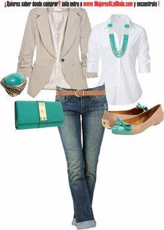 Combinaciones con beige y blanco