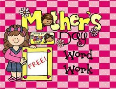 FREE Word Work activity!Make a Word: Happy Mother's Day!I hope you enjoy this free Mother's Day activityCheck out other SPRING related activities in my store:*** FREE Word Work Fun (Make a Word): Happy Spring!***   APRIL Interactive Reading Activities ***   Spring Activities: Language Arts Unit***   Eath Day Unit:  Reading, Writing, Math, Science/Social Studies and Craft Activities*** Color by Sight Words Bundle - Spring*** Make a Word:  Easter Egg Hunt!Let me know what you think about this…