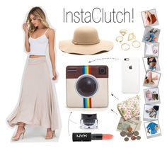 """""""#Instagram Ready"""" by gojane ❤ liked on Polyvore featuring NYX and Polaroid"""