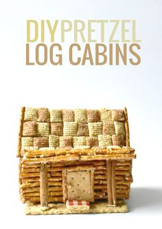 Forget waiting until winter to make a gingerbread home, make your very own Pretzel Log Cabin this summer with these fun allergen-friendly ingredients!