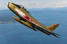 RCAF F-86 Sabre 5 (Canadair Serial Number 23314)