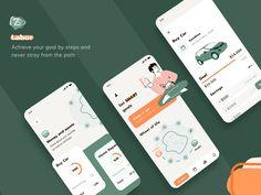 Savings App Concept by Cadabra Studio Ios, Wheel Of Life, Screen Design, Ui Kit, App Ui, Ui Ux Design, Mobile Ui, Cool Words, Concept