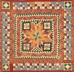 Medallion Quilt, c1830. York Co, Pennsylvania.