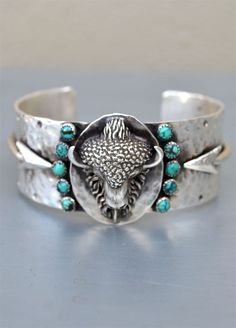 This is incredible! I'm in love!!!  Richard Schmidt Buffalo & Arrows Cuff
