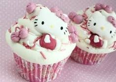 Resultado de imagen para cupcakes de kitty