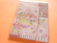 Kawaii Cute Letter Set Sanrio Japan Exclusive My Melody *Parrots