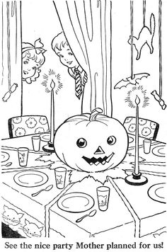 A Ghostly Graveyard Coloring Page Spooky Fun For Halloween Color