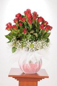 çiçek dükkan Glass Vase, Home Decor, Homemade Home Decor, Decoration Home, Interior Decorating