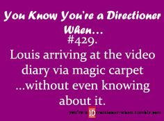 Source: The first tour video diary (x)
