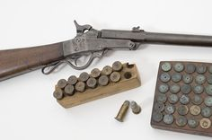 ID'd Maynard 2nd Model Carbine with Blocks of Cartridges