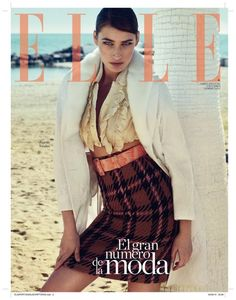 Eugenia Volodina by Riccardo Tinelli for Elle Spain March 2015
