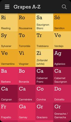 Plonk - Find your perfect wine with this handy database of grape varieties and wine styles, helping understand flavours and making suggestions of something to try. Elegant design and colors of course compliment the product its promoting!