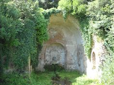 Nymphaeum of Egeria - EneaWalks: TOUR 1 - Landscapes and ruines of the Ancient Appian Way, Rome, Italy
