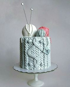 15 gorgeous cake designs that are out of this world di .- 15 wunderschöne Kuchen-Designs, die nicht von dieser Welt sind Di… 15 beautiful cake designs that are not from this … - Beautiful Cake Designs, Gorgeous Cakes, Pretty Cakes, Cute Cakes, Amazing Cakes, Best Cake Designs, Crazy Cakes, Fancy Cakes, Knitting Cake