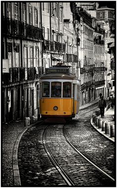 Our Vacation to Lisbon, Portugal. A most delightful and beautiful city. Not too many real cities are just themselves. Mostly you could be anywhere but Lisbon is unique. Oh The Places You'll Go, Great Places, Places To Travel, Beautiful Places, Places To Visit, Portugal Travel, Spain And Portugal, Travel Around The World, Around The Worlds