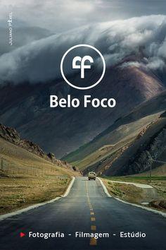 """Criação de logotipo para a """"Belo Foco"""". (Fotografia retirada do Google para apresentação de layout)."""