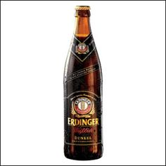 Erdinger Dunkel - A nice dark beer that is popular in Germany. I drunk a lot of this one and really enjoy it.