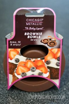 Brownie Bowls From Chicago Metallic – Enter To Win Yours – And Birthday Oreo Ice Cream!
