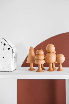 Playroom Organization, Playroom Decor, Scandinavian Nursery Decor, Monochrome Nursery, Rainbow Nursery, Natural Toys, Wooden Tree, Waldorf Toys, Montessori Toys