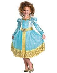 Toddler and Girls Deluxe Merida Princess Costume
