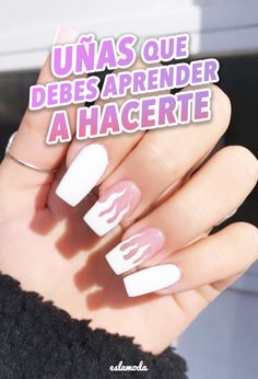 Nail Manicure, Pedicure, Finger Nail Art, Cute Friend Pictures, Nail Art Videos, Best Acrylic Nails, Pink Makeup, Dream Nails, Flower Aesthetic