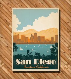 San Diego Print by Anderson Design Group on Scoutmob Shoppe