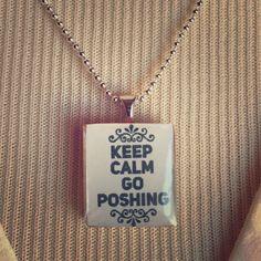 """""""Keep Calm Go Poshing"""" 18"""" New """"Keep Calm Go Poshing"""" 18"""" New Posh Jewelry Necklaces"""
