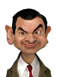 Characature of Mr. Bean