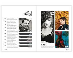 Revista Gente 4ª Edição Redesign Editorial by Felipe Goes, via Behance