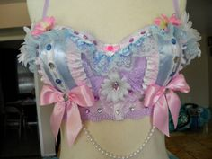 diy bra; pastel colors