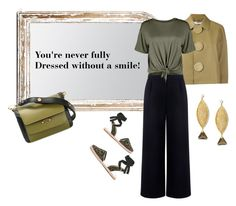 """""""Smile please!"""" by bv-b ❤ liked on Polyvore featuring Sophia Webster, Givenchy, Made Goods, Être Cécile, Marni and Anastazio"""