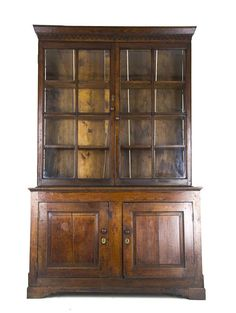 Antique Kitchen Cabinet, Housekeepers Cabinet, Food Cupboard, Scotland 1750, Antique Furniture, B913
