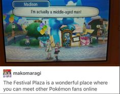 "my favorite highlight of festival plaza I've seen so far is ""She is CockMaster69, one of your guests"""