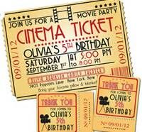Movie Night Birthday Party - Bing Images