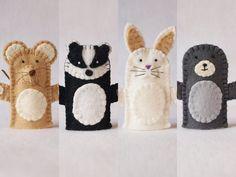 The Mitten The Mitten Felt Puppet Owl Puppet Hedgehog Felt Puppets, Felt Finger Puppets, Puppet Crafts, Felt Crafts, Finger Puppet Patterns, Felt Stories, Baby Sewing Projects, Mittens Pattern, Felt Patterns