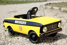 Cool vintage soviet pedal car