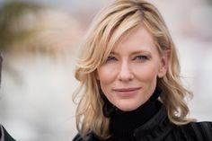 Carol : Photo Cate Blanchett Plus Love Hair, Great Hair, Film Carol, Cate Blanchett Carol, Best Female Actors, Celebs, Celebrities, Shoulder Length, Amazing Women