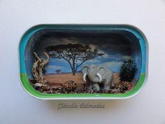 """""""Safari"""" - latinha de sardinha"""