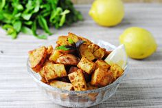 Lemon-Dijon Tofu and Potatoes - a hearty, flavorful meal (that happens to be vegan and gluten free!)