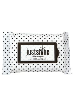 Just Shine Face Wipes