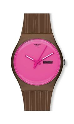 Swatch Wonder Drift Unisex Watch - SUOZ706 Swatch. Save 12 Off!. $61.60. Water Resistance : 3 ATM / 30 meters / 100 feet. Date. Pink Rubber Strap