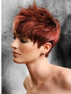 Coupe courte pour femme : Easy And Short Layered Hairstyles You Should Try