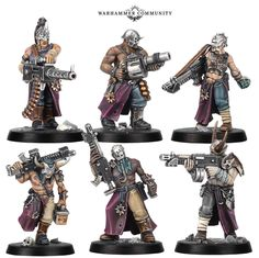 Take a look at the brand new expansion with new villains and heroes coming to Blackstone Fortress: Escalation. Warhammer Paint, Warhammer 40k Art, Warhammer Models, Warhammer 40k Miniatures, Warhammer Fantasy, Necromunda Gangs, Dark Vengeance, Game Expo, Miniaturas Warhammer 40k