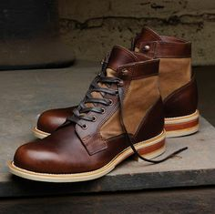The Best Men's Shoes And Footwear : Men's Whitepine 1000 Mile Boot – – Casual Shoes Me Too Shoes, Men's Shoes, Shoe Boots, Dress Shoes, Shoes For Men, Ankle Boots, Combat Boots, Celebridades Fashion, Mode Man