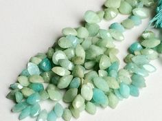 5 Strands WHOLESALE  Amazonite Beads Amazonite by gemsforjewels