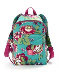 Joules JNR CARRYALL Girls Printed Backpack, Blue. For school days, school trips and for cool days that don't involve school - this bag is a winner!